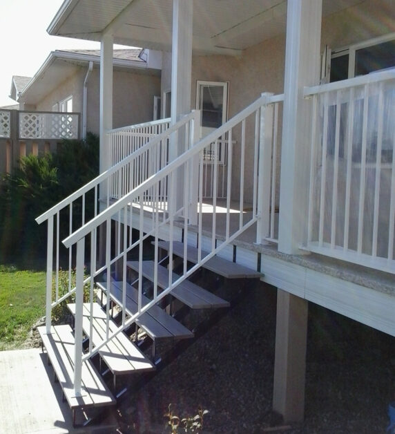 Duradek Stairs And Aluminum Railings