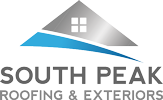 South Peak Roofing & Exteriors Logo - Lethbridge