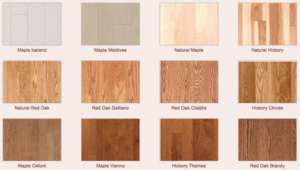 Light hardwood sample flooring 1 - Lethbridge