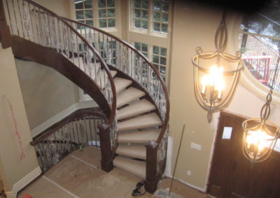 Custom stair carpet flooring lethbridge